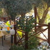 B&B Villa Beatrice Brancaleone - colazione all'aperto